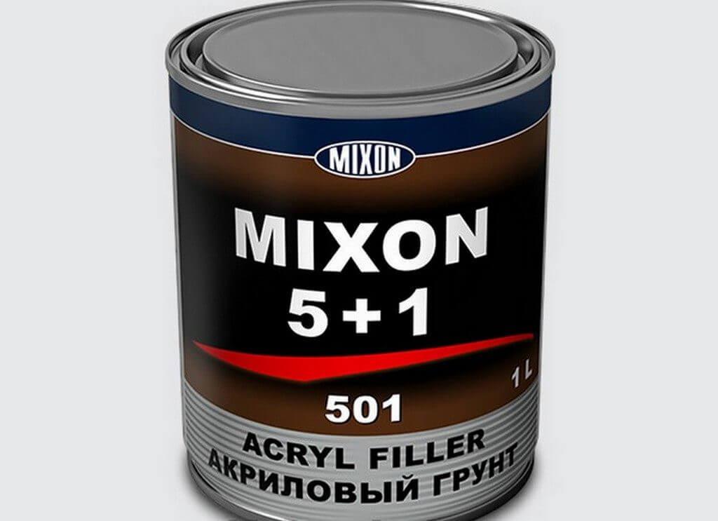 Грунтовка для авто акриловая MIXON 5+1 белая