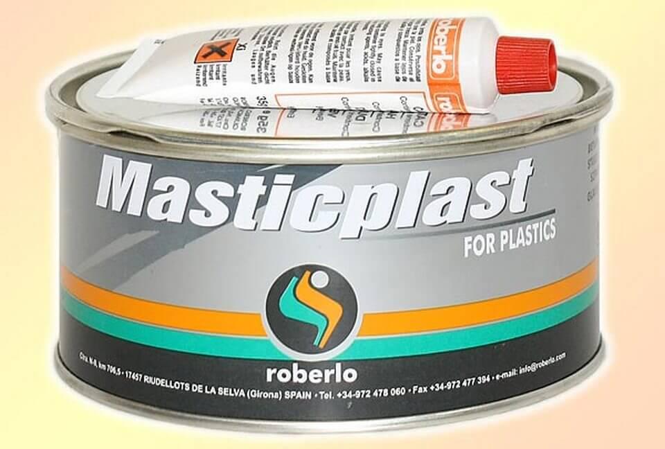 Шпатлевка по пластику ROBERLO MasticPlast