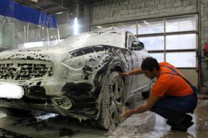 Нанесение на кузов автомобиля химических веществ