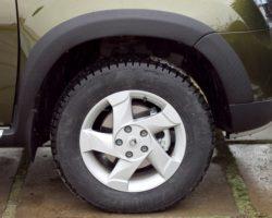 накладки на арки колес универсальные