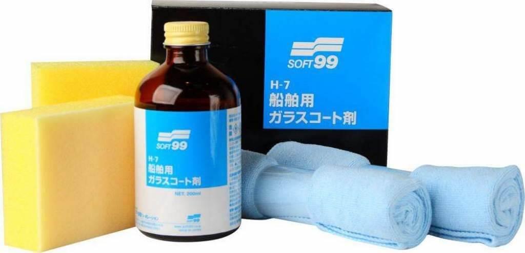 Покрытие для кузова жидкое стекло Soft99 H-7