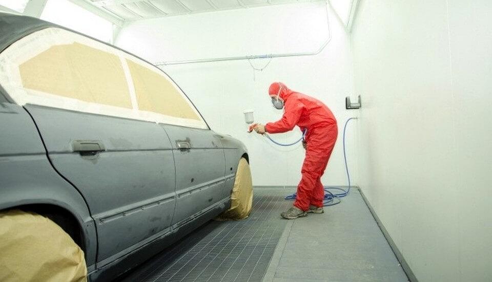 Грунтование автомобиля перед покраской