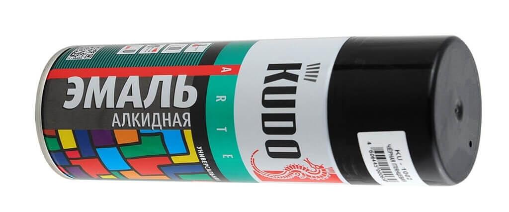 Продукция компании Kudo - эмали, грунты, краски