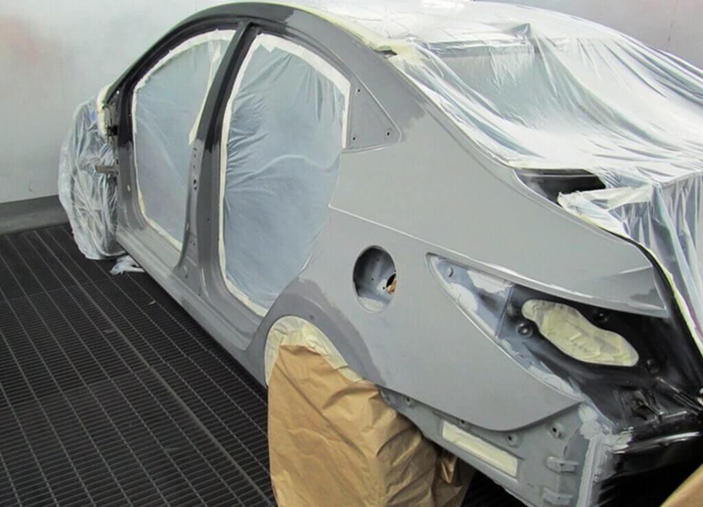 Подготовка автомобиля к грунтовке