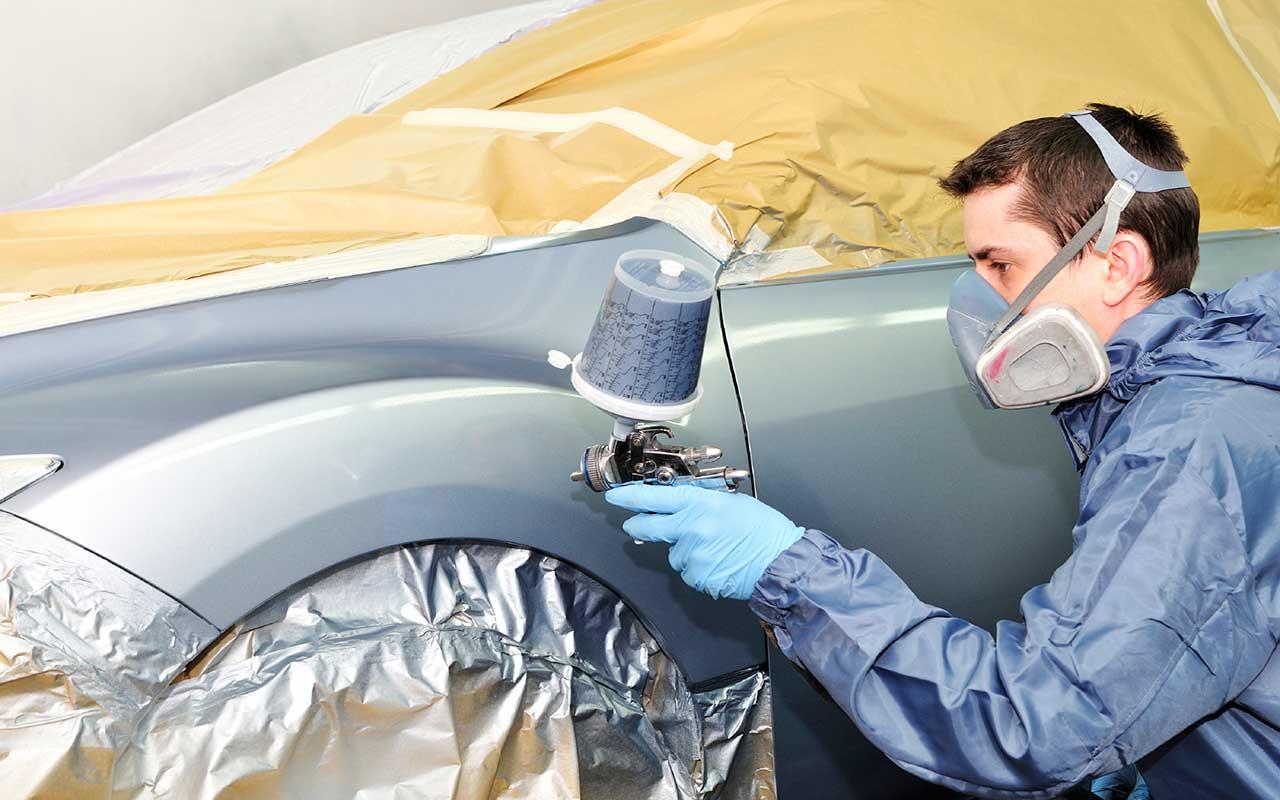 Технология окраски кузова автомобиля