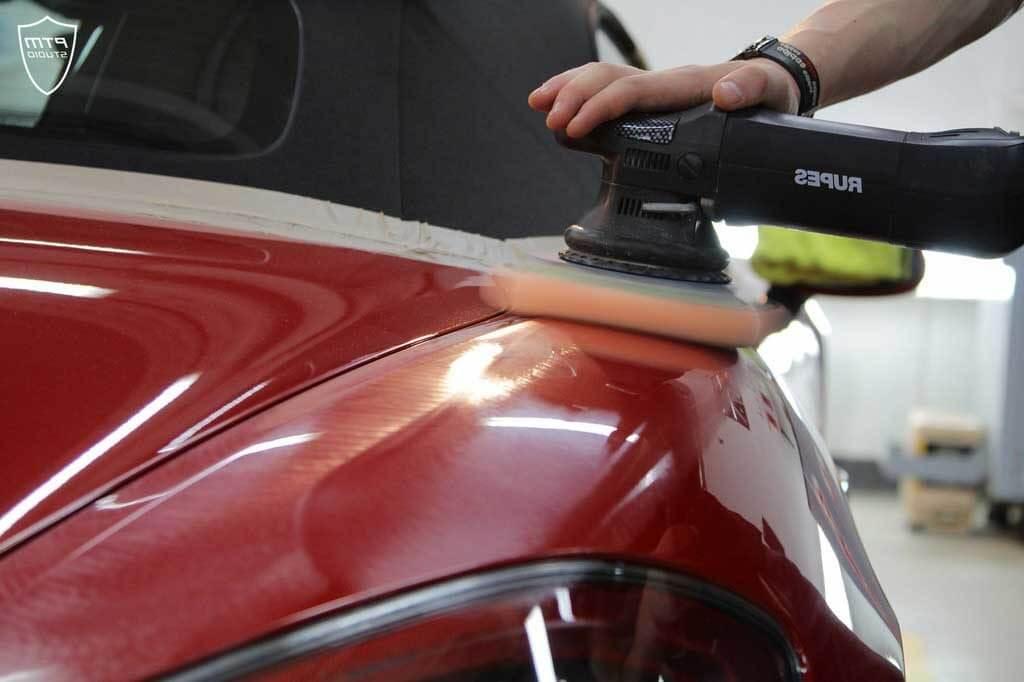 Шлифовка и очистка кузова авто
