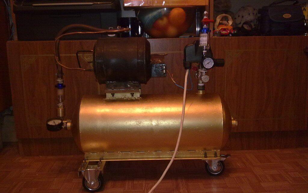Самодельный компрессор к краскопульту
