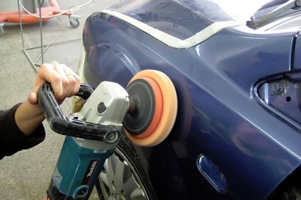 Болгарка поможет справиться с шлифовкой кузова авто