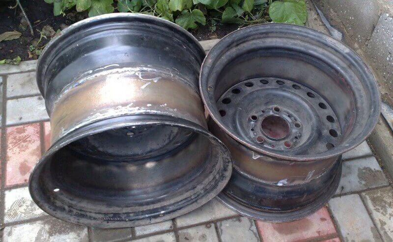 Разварки, изготовленные из двух дисков