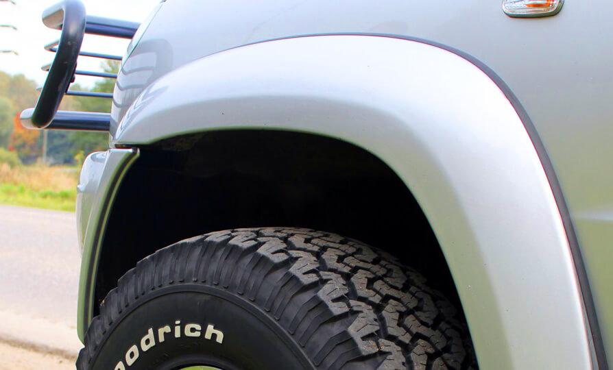 Расширители на колесные арки своими руками - способы изготовления фендеров