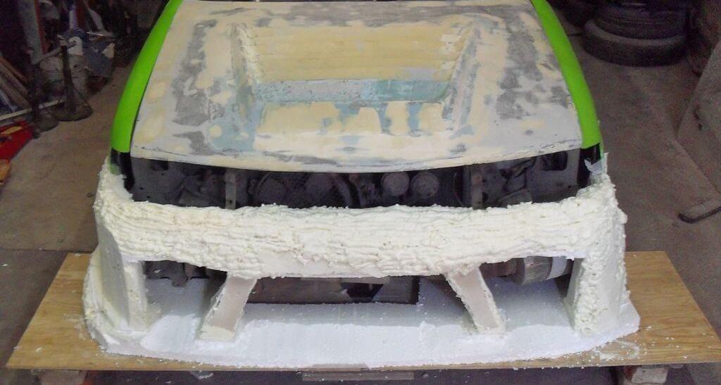 Тюнинг переднего бампера ВАЗ 2110 - 2112 своими руками