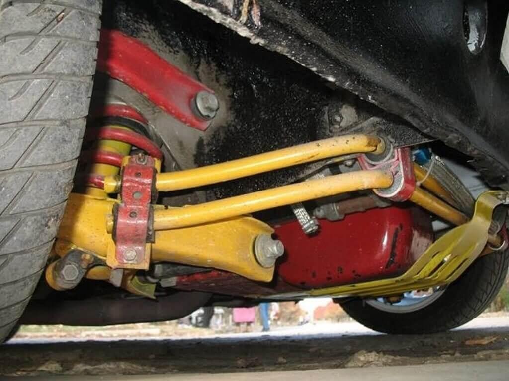 Тюнинг подвески ваз 2110