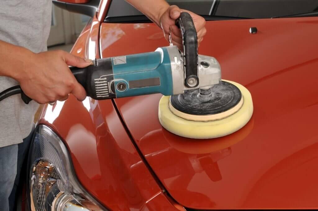 Как устранить «шагрень» с окрашенной поверхности автомобиля
