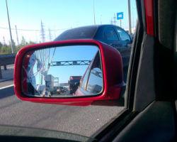 Как приклеить зеркало с подогревом