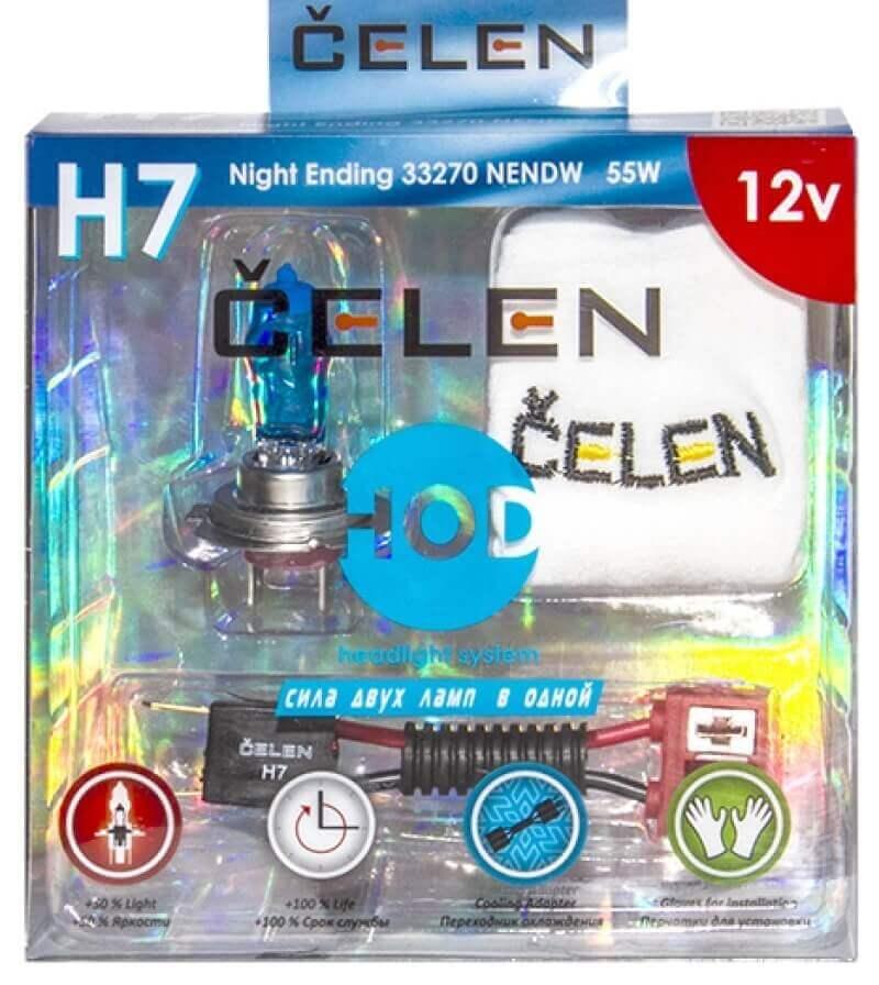 Čelen-HOD лампочки для оптики Солярис