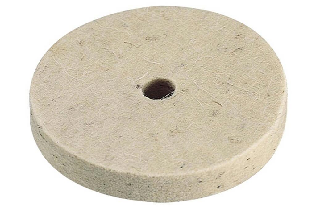 Полировочный диск из войлока WOLFCRAFT