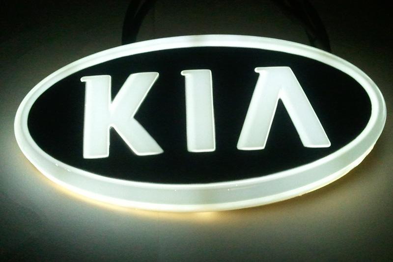 Светодиодный шильдик для автомобиля КИА «Рио»