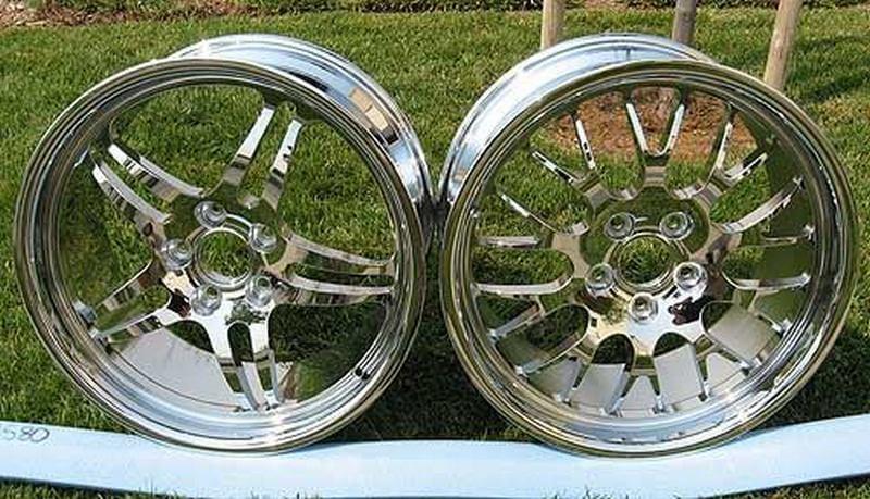 Хромирование колёсных дисков