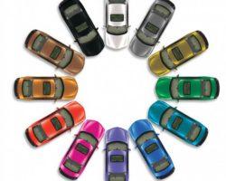 Автомобильные краски каталог цветов