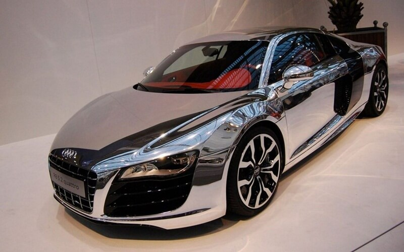 Хромирования кузова автомобиля