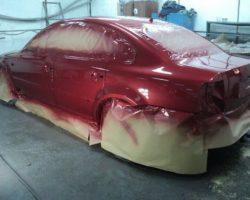 Кузовной ремонт и покраска кузова автомобиля