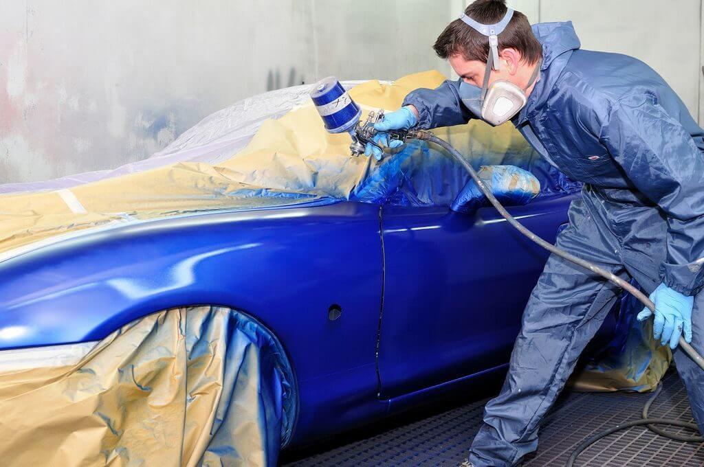 Покраска кузова машины