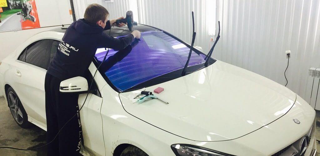 Тонировка стекол машины
