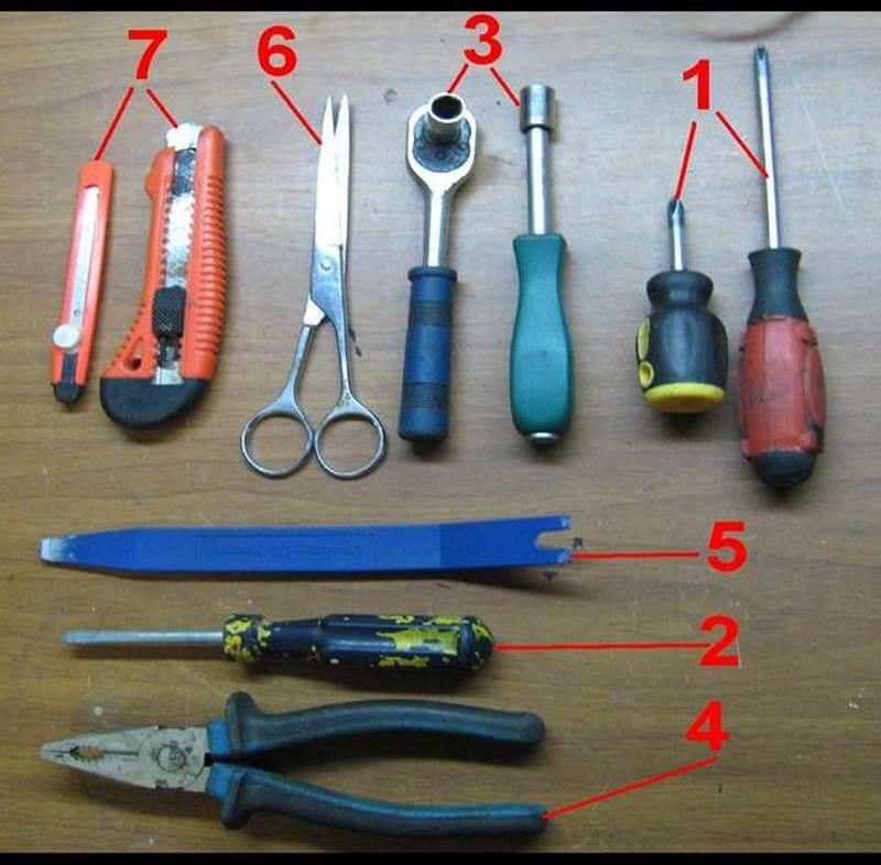 Инструмент для установки биксеноновых линз в фары