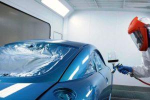 Сколько стоит покрасить элемент автомобиля