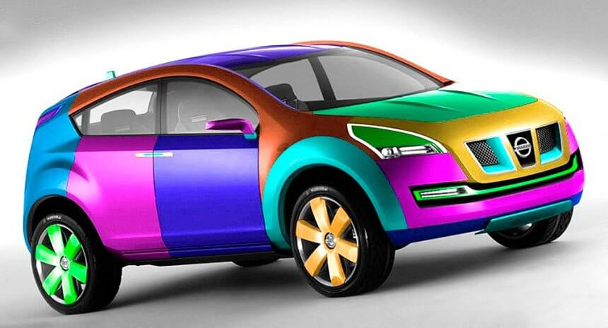 Как покрасить отдельный элемент авто