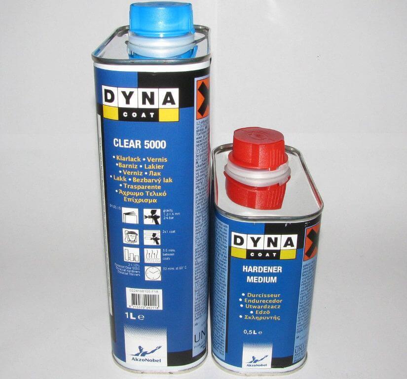 Лак автомобильный акриловый Dyna Clear