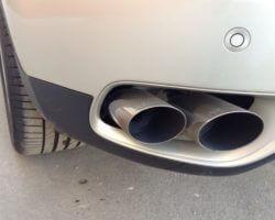 Насадка на глушитель со звуком турбины