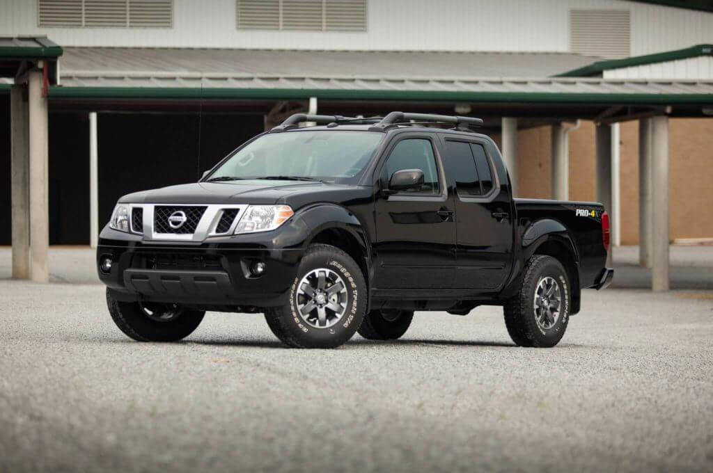 Nissan Frontier Pro 4x 2016