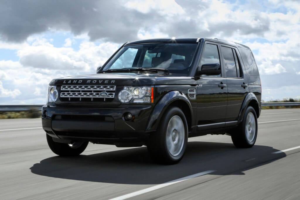 Джип Land Rover LR4