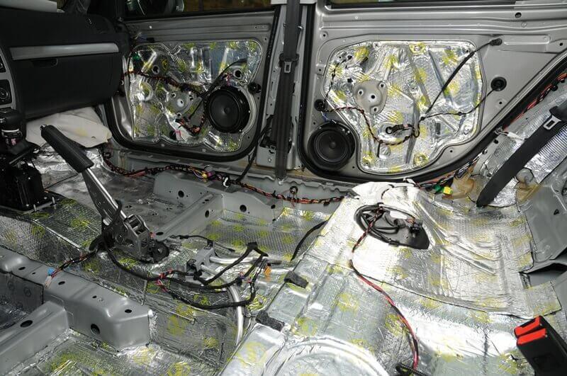 Полная шумоизоляция автомобиля