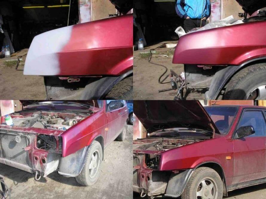 Кузовной ремонт ВАЗ 2019
