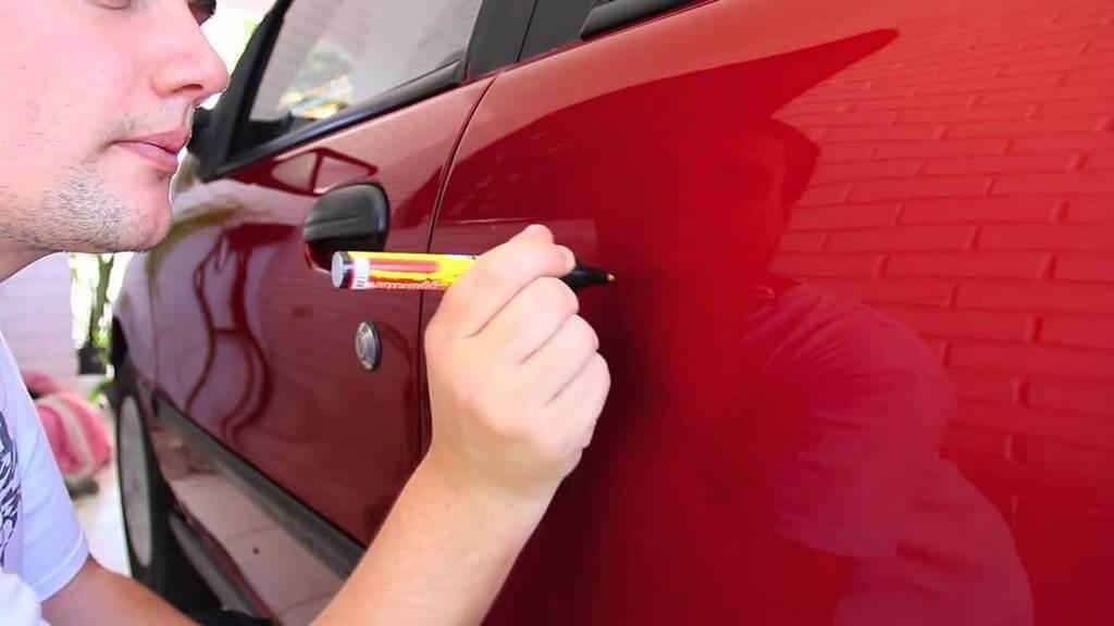 Восковый карандаш для кузова машины
