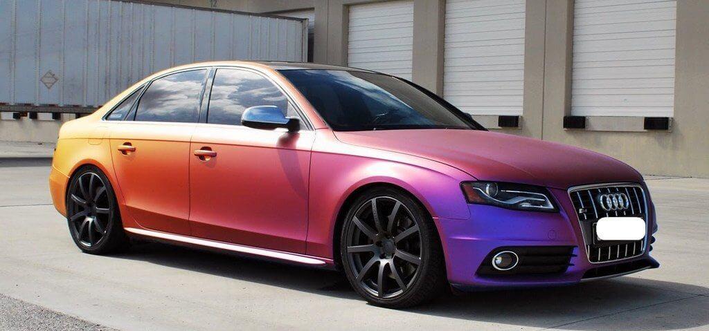 Покраска машины в хамелеон