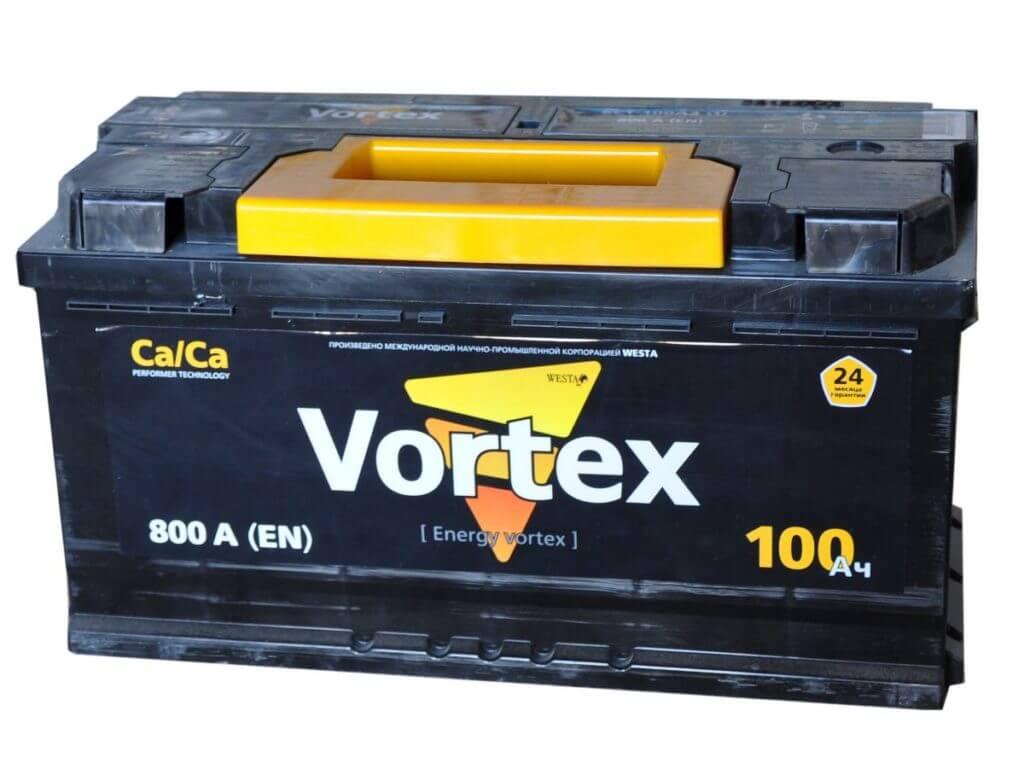 Аккумулятор автомобильный Vortex 100Ач