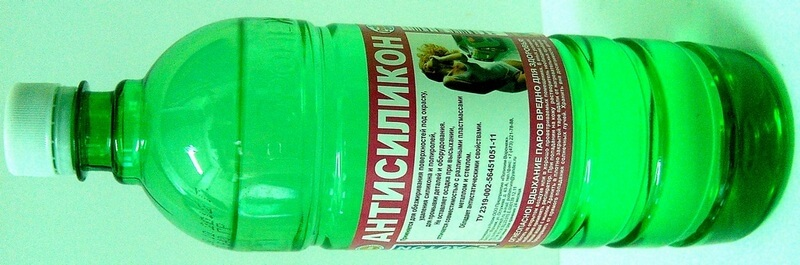 Антисиликон-обезжириватель бутылка 1л