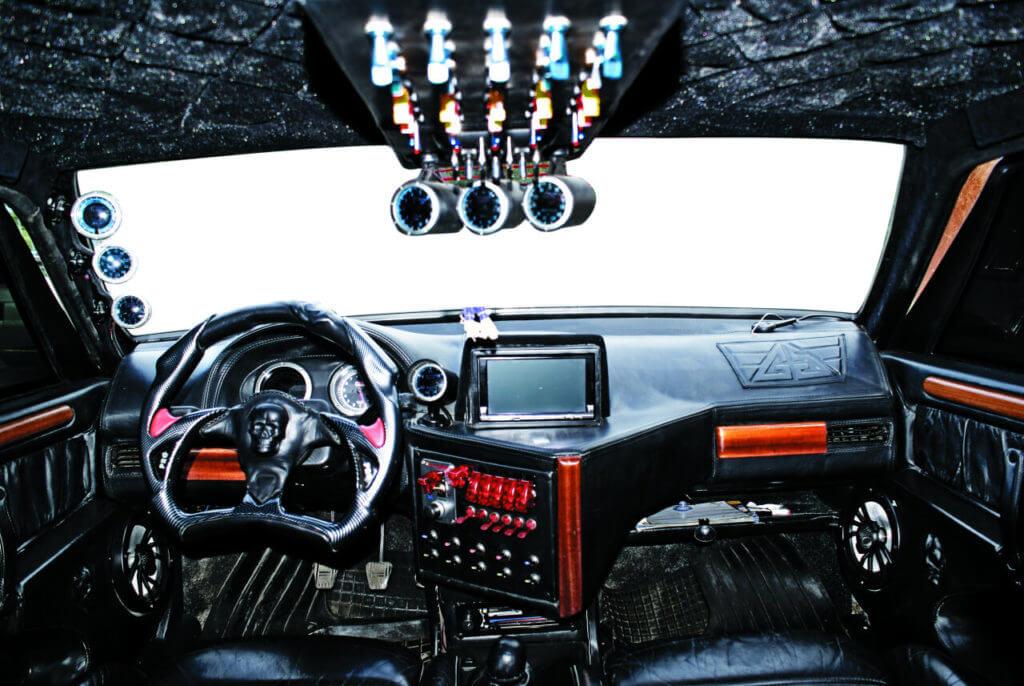 Невероятный тюнинг авто