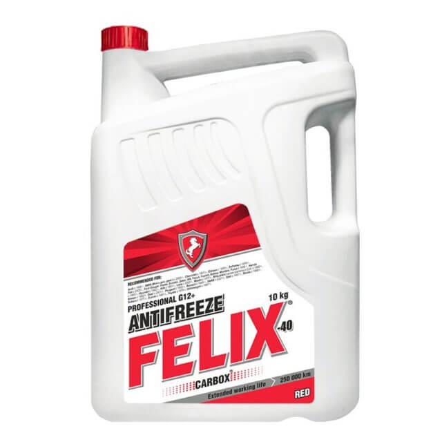 Достоинством Felix Carbox G12 является «адресная система» защиты от коррозии, которая блокирует очаги ржавления