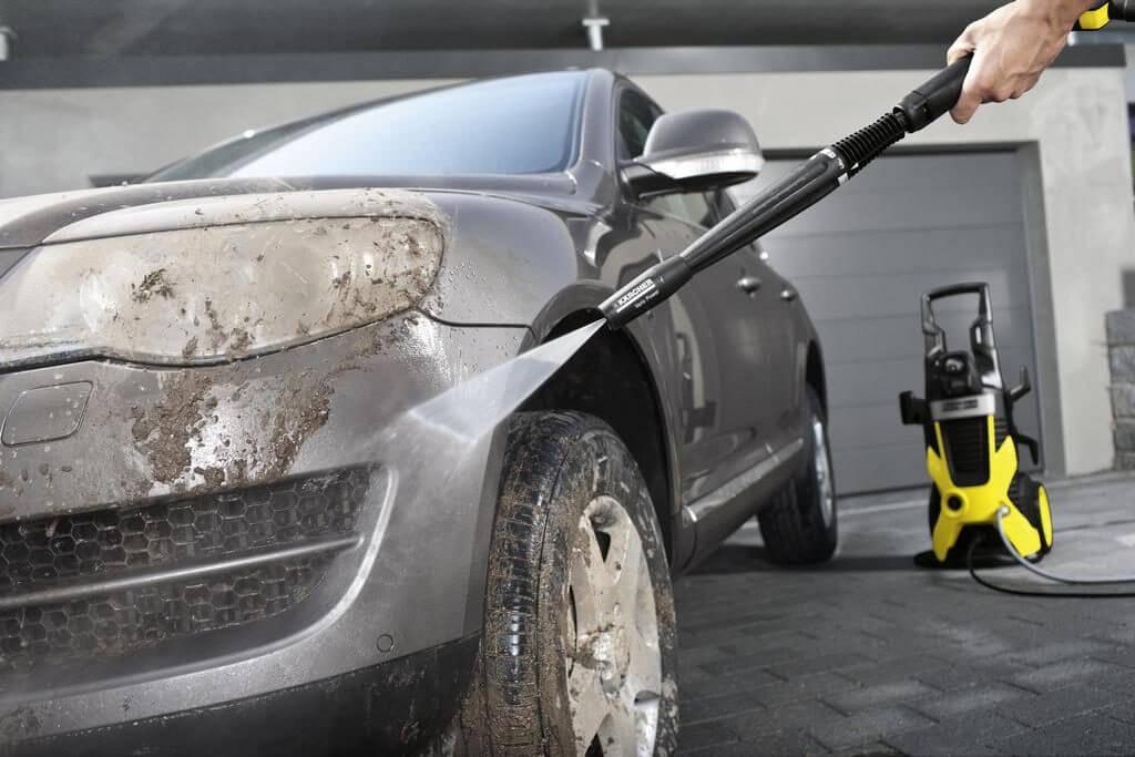 Помойте машину