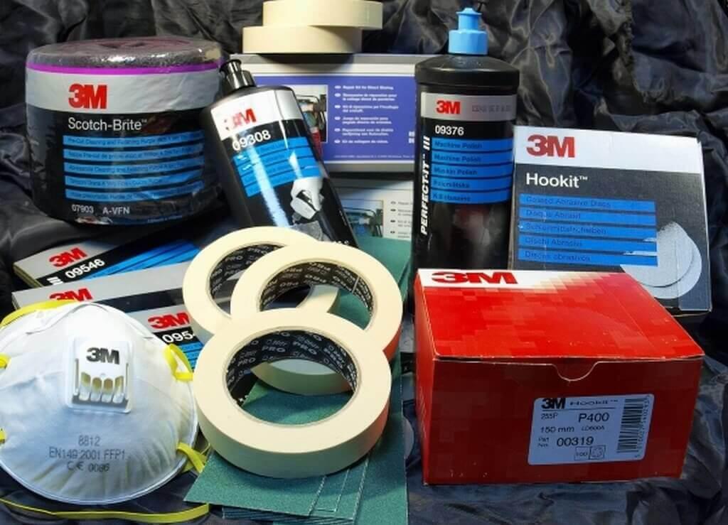 Материалы, необходимые для покраски дверей машины