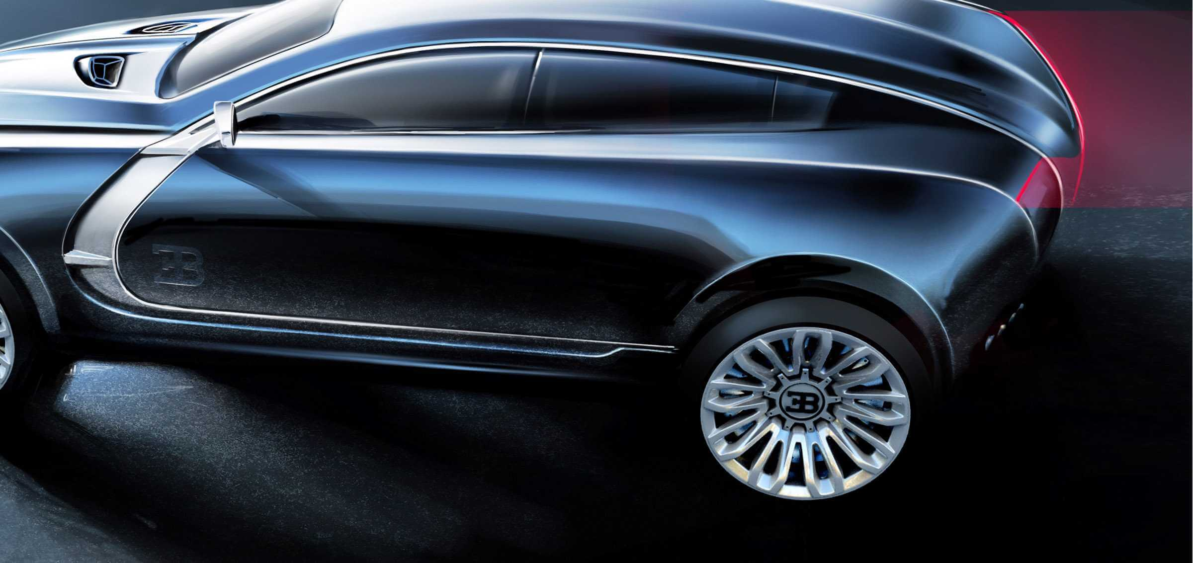 Bugatti SUV Design Concept by Ondrej Jirec