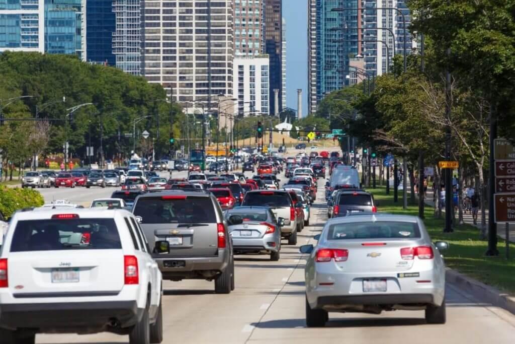 Избегайте автомобильных пробок