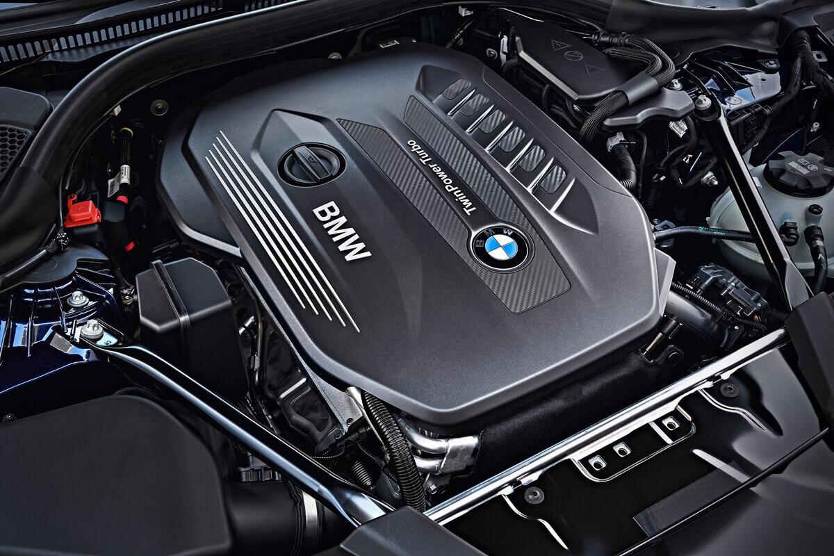 Под капотом BMW 530d xDrive Touring M Sport (G31) 2017