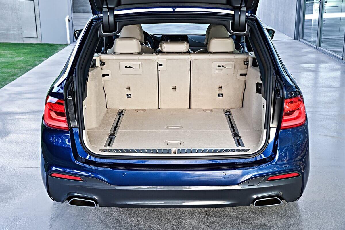 Багажник BMW 530d xDrive Touring M Sport (G31) 2017