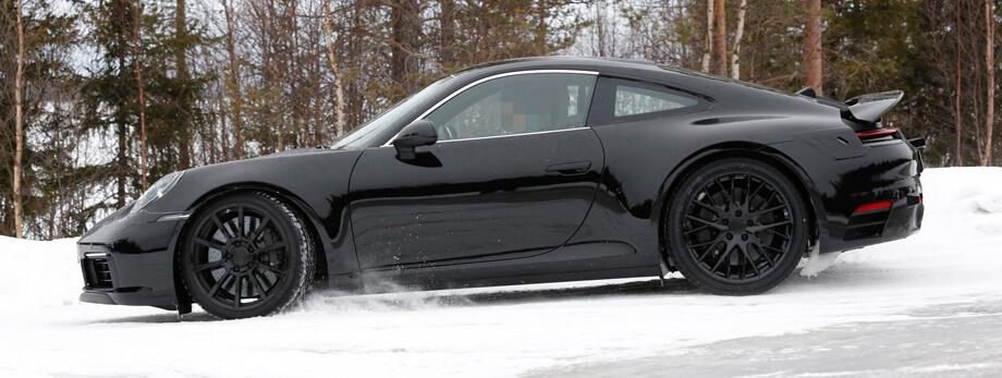 Фото нового Porsche