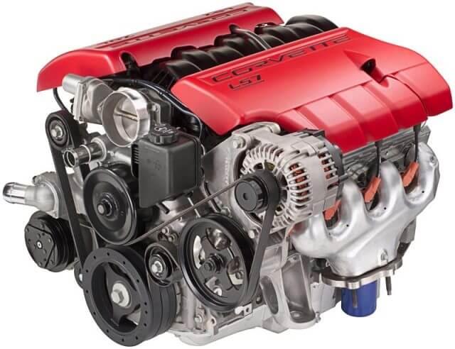 Рабочий процесс двигателя главным образом осуществляется благодаря работе кривошипно-шатунному механизму